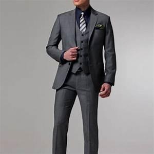 Costume Mariage Homme Gris : nouveau costume homme gris mari hommes costume de mariage de smokings 2017 haute qualit hommes ~ Mglfilm.com Idées de Décoration