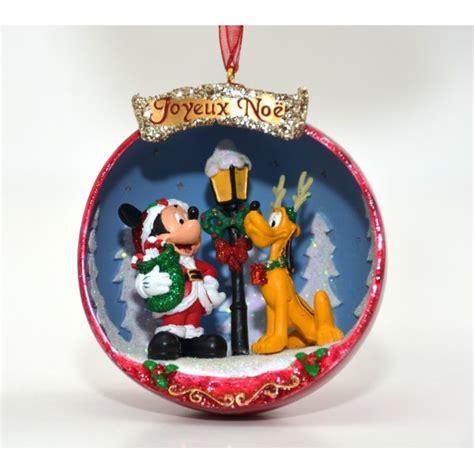 disney mickey  pluto christmas decoration