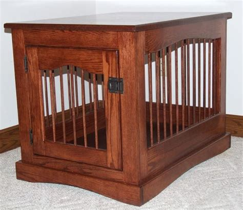 wooden dog crate table wooden end table dog crate woodworking projects plans