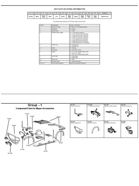 00DN DURANGO NUMEROS DE PARTE | Automotive Technologies | Car
