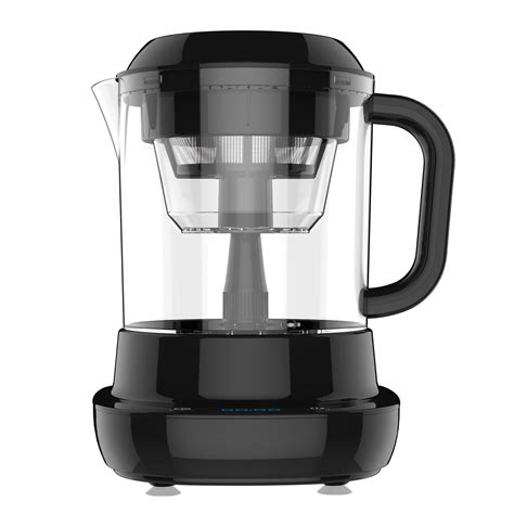 Cold brewing produces a coffee concentrate that you can dilute with water, ice or milk (well, anything, really. Amazon.com: Gourmia GCM6800 Automatic Cold Brew Coffee Maker - 10 Minutes Fast Brew - Patented ...
