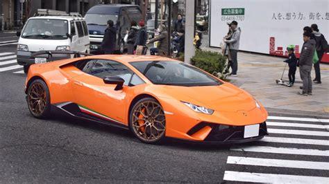 新型ウラカンペルフォルマンテ他 スーパーカー目撃 サウンド/supercars In Tokyo