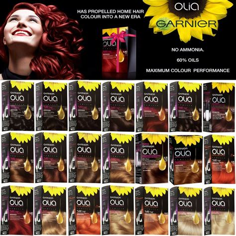olia hair color shades garnier olia powered permanent color hair dye 21