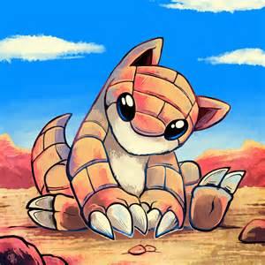 Sandshrew Cute Pokemon