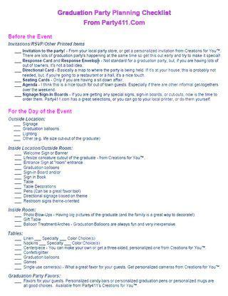 graduation checklist template graduation planning checklist pdf graduation planning planning