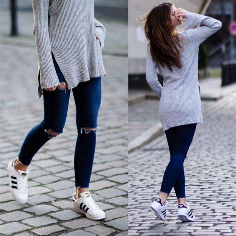 Jacky - Asos Sweater Subdued Jeans Adidas Sneakers - Superstars   LOOKBOOK
