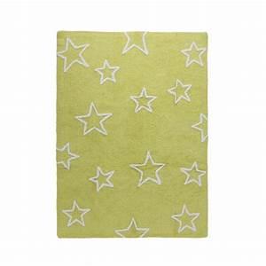 tapis enfant estrellas vert lorena canals 120x160 With tapis vert enfant