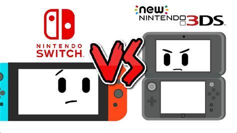 Nintendo Switch Vs New 3ds Xl
