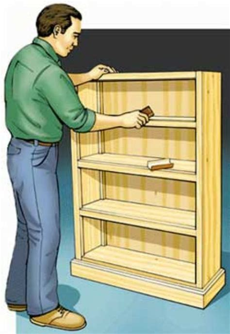 build  simple bookcase toolmonger