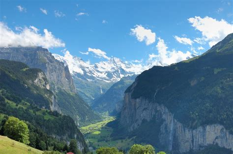 of the valley incredible staubbach falls switzerland world for travel