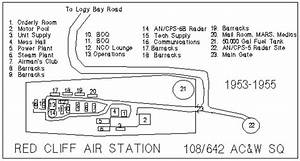 Base Diagram Of 108th  U2013 642nd Ac U0026w Squadron  1953   U2013 Canadian Military History