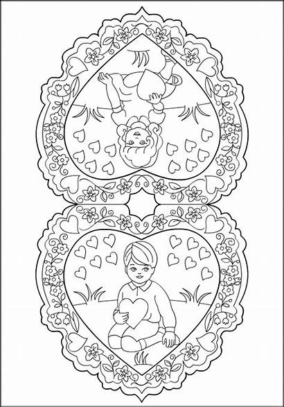 Coloring Pages Valentines Valentine Nicole Inspiration Spring