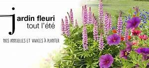 Plantes Vivaces Autour D Un Bassin : fleurs de jardin annuelles vivaces v nement jardinerie truffaut ~ Melissatoandfro.com Idées de Décoration