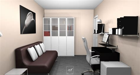 chambre d amis et bureau décoration d 39 un appartement à vitry sur seine mh deco