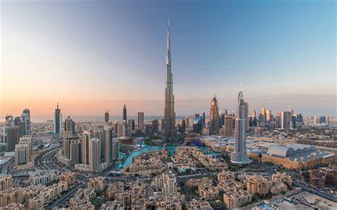 Download wallpapers Dubai, Burj Khalifa, 4k, skyscrapers ...