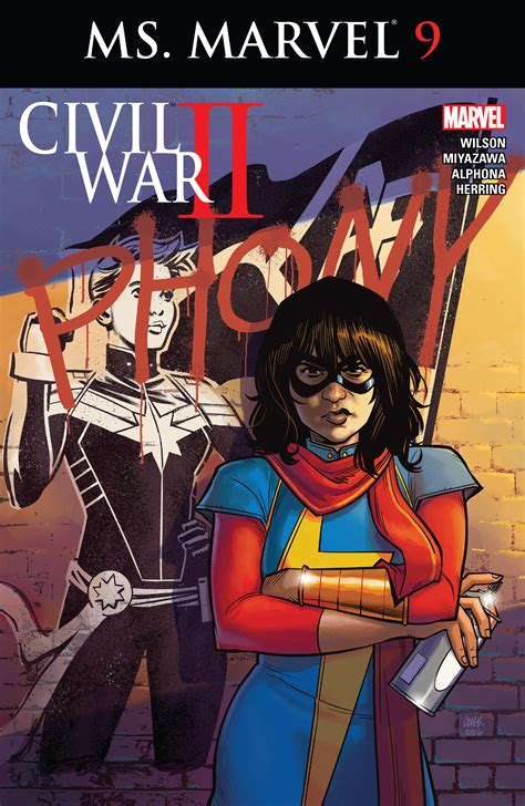 Ms. Marvel #9 Review: Civil War II a character comes out ...