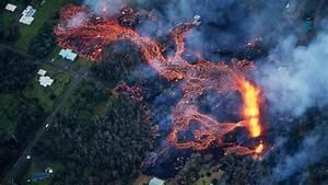 Lava Flow Intensifies In Hawaii Eruptions  Spews 200 Feet In Air