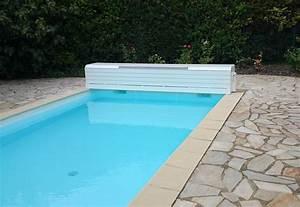 Piscine Hors Sol Chauffée : couverture lectrique de piscine rideau de piscine lectrique ~ Mglfilm.com Idées de Décoration