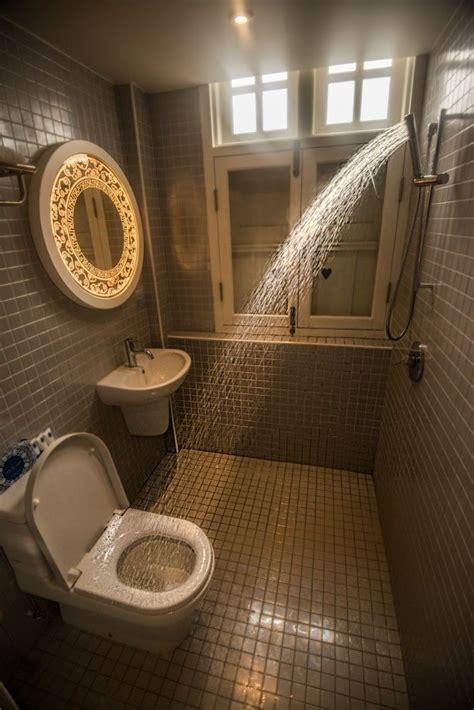 european style wet room bathroom   showerhead