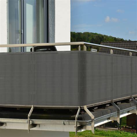 sichtschutz balkon grau balkon sichtschutz diverse h 246 hen farben hier kaufen