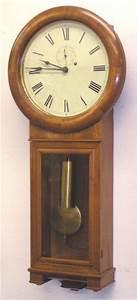 CIRCA 1900 SETH THOMAS REGULATOR 2 WALL CLOCK Antique