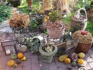 Deko Herbst 2017 : terrassen deko herbst nowaday garden ~ Lizthompson.info Haus und Dekorationen