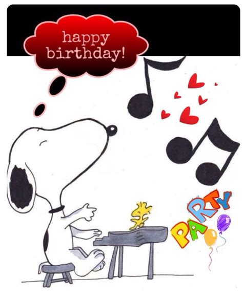 Happy Birthday Friend Clipart Snoopy Happy Birthday Clipart Collection