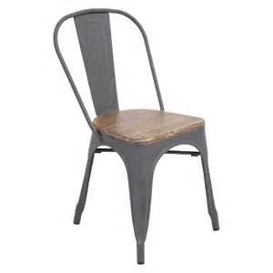 lumisource oregon dining chair gray target