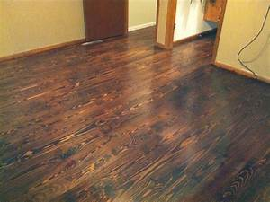 Knotty pine flooring houses flooring picture ideas blogule for Pine floors stained dark