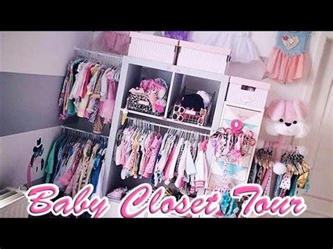 3  [ Baby Closet Tour ]  Organisation Du Dressing De