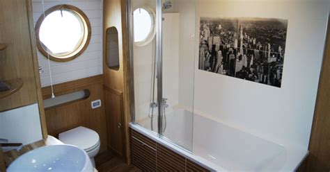 buying   canal boat bathroom fit   fit