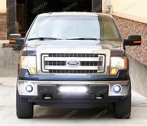 2006 F150 Light Bulbs 2006 2014 Ford F 150 Cree High Power Led Fog Light Kit