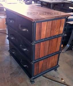 Vintage Industrial Möbel : vintage industrial ellis dresser french industrial my style pinterest industrielle m bel ~ Bigdaddyawards.com Haus und Dekorationen