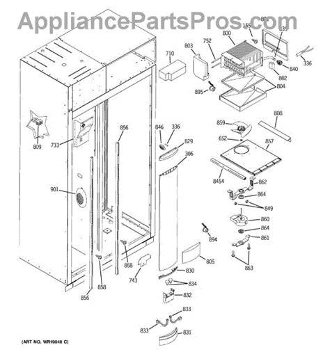 parts  ge zissdriss freezer section parts