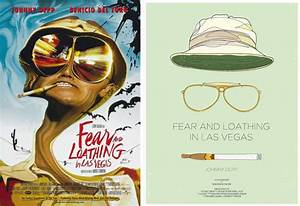 45 minimalist movie posters to inspire your creativity for Fear and loathing bathroom scene