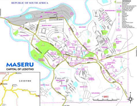 Maseru Map