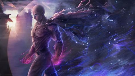 saitama  punch man artwork hd anime  wallpapers