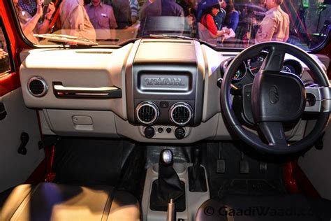mahindra thar 2017 interior top 15 changes seen in the 2015 mahindra thar