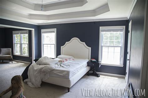 Things To Hang From Ceiling by Master Bedroom Paint Reveal View Along The Way