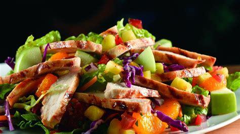 wallpaper tropical chicken salad apple orange pineapple