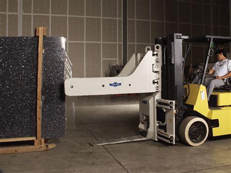 forklift attachments tire handler load extender cascade