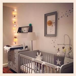 Chambre Bebe Etoile : des toiles dans une chambre d 39 enfant envie 2 deco ~ Teatrodelosmanantiales.com Idées de Décoration