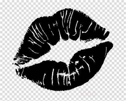 Clipart Lips Silhouette Kiss Cartoon Customers Clipground
