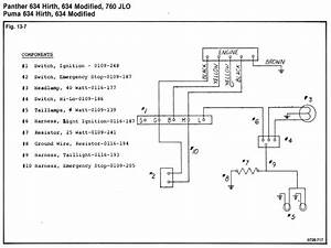 03 Arctic Cat Pantera Wiring Diagrams