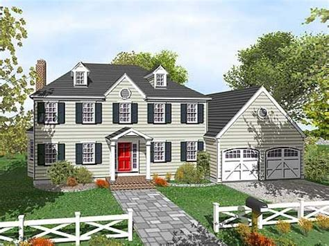 two colonial house plans 2 colonial house plans