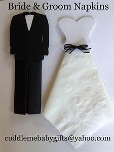 bridal shower bride groom paper napkins bridal shower With wedding shower for groom