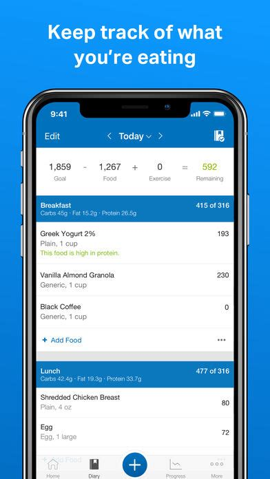 fitness apps for iphone myfitnesspal iphone app app apps 2087