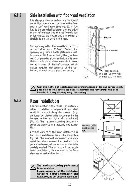 floor l assembly instructions rear installation side installation with floor roof