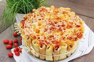 Torte Mit Frischkäse : cannelloni torte mit frischk se c b with andrea ~ Lizthompson.info Haus und Dekorationen