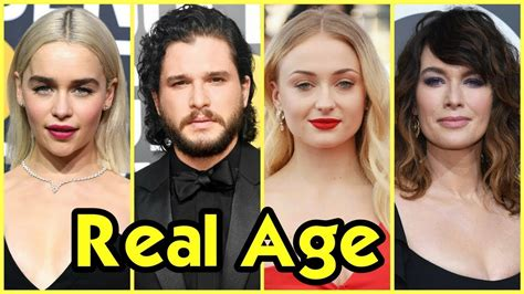 game  thrones cast real age  doovi